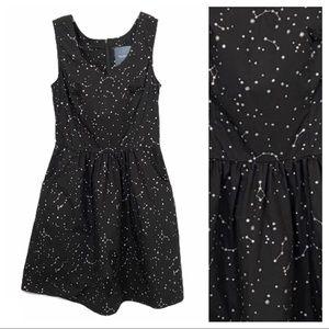 Modcloth Celestial Silver Star Constellation Dress